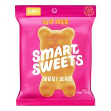 SmartSweets Gummy Bears 18 Oz Pack