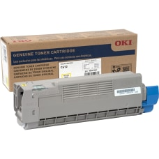 Oki Toner Cartridge Yellow LED 6000