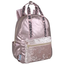 Delias Fuzzy Backpack Pink