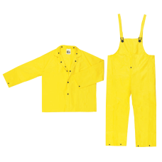 Three Piece Rain Suit JacketHoodPants 028