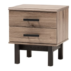 Baxton Studio Contemporary End Table 20