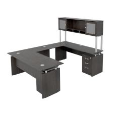 Forward Furniture Diamond Double Pedestal U