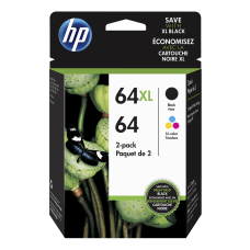 HP 64XL Black And 64 Tricolor