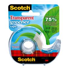 Scotch Magic Transparent Greener Tape In