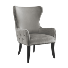 Linon Jules Round Back Chair Dark