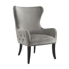 Linon Jules Round Back Chair Dark