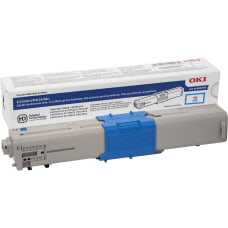 OKI 3K Original Toner Cartridge Cyan