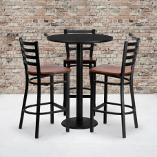 Flash Furniture Round Table And 3