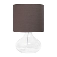 Simple Designs Glass Raindrop Table Lamp