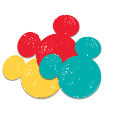 Eureka Mickey Mouse Paper Cut Outs