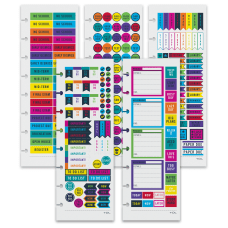 TUL Discbound Notebook Sticker Sheets 3