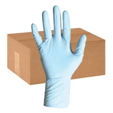 DiversaMed Disposable Nitrile Exam Gloves Powder