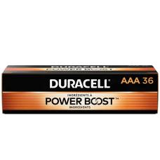 Duracell Coppertop AAA Alkaline Batteries Box