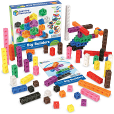 Learning Resources MathLink Cubes Big Builders