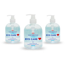 BYD Care Moisturizing Hand Sanitizer Fragrance