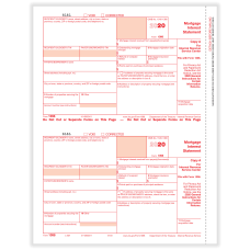 ComplyRight 1098 Tax Forms 2 Up