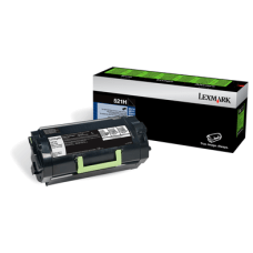 Lexmark 52D1H0L High Yield Black Toner