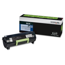 Lexmark 50F1X00 Extra High Yield Return