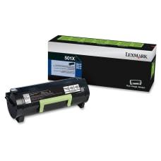 Lexmark 50F1X00 Extra High Yield Return