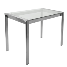 Lumisource Fuji Contemporary Counter Table Rectangular