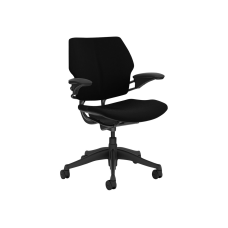 Humanscale Freedom Chair task armrests swivel