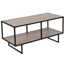 Flash Furniture TV Stand With Metal