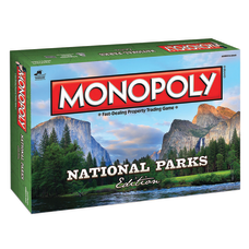 The Op Monopoly National Parks Edition