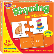Trend Rhyming Puzzle Set 348 Piece