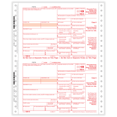 ComplyRight 1099 B Tax Forms Continuous