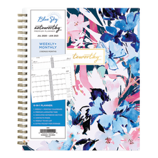 Blue Sky Noteworthy Academic DailyMonthly Planner
