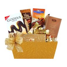 Givens Golden Chocolate Sampler Gift Basket