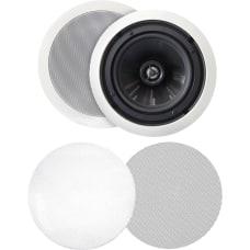 BIC America 2 Way Speakers White