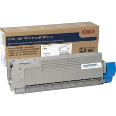 Oki Toner Cartridge Cyan LED 6000