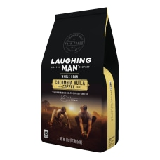 Laughing Man Colombia Huila Whole Bean