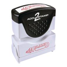 ACCU STAMP2 Faxed Stamp Shutter Pre