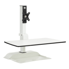 Safco Electric Desktop Sit Stand 1