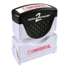 ACCU STAMP2 Confidential Stamp Shutter Pre