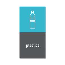 simplehuman Magnetic Plastic Trash Label 4