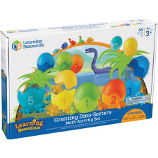 Learning Resources Counting Dino Sorters Math
