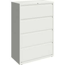 Lorell 36 W Lateral 4 Drawer