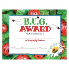 Hayes BUG Award Certificates 8 12