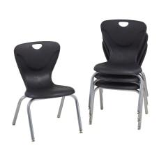 Factory Direct Partners Contour Chairs Black