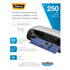 Fellowes Thermal Laminating Pouches Letter Size