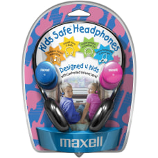 Maxell Kids Safe Headphones Stereo Mini