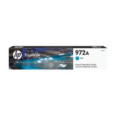 HP 972A Cyan Original PageWide Cartridge