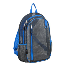 Eastsport Sport Mesh Backpack GraphiteRoyal Blue