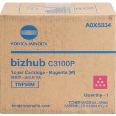 Konica Minolta TNP50M Toner Cartridge Magenta