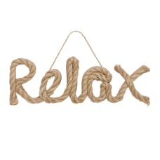 Amscan Relax Word Sign 4 12