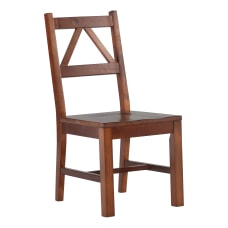 Linon Rockport Chair Antique Tobacco