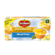 Del Monte Diced Peaches And Mixed
